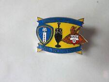 LEEDS United v DONCASTER Rovers 2011 - 2012 FOOTBALL Championship Pin Badge no 2