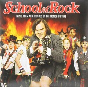 SCHOOL OF ROCK ORIGINAL SOUNDTRACK NEW SEALED LTD COLOURED VINYL 2LP IN STOCK