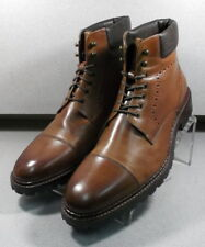 209836 PFBT40 Men's Shoes Size 12 M Brown Leather Ankle Boots  Johnston & Murphy