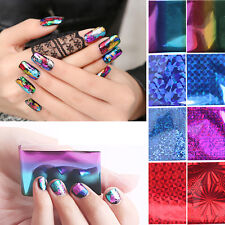 48 Sheet Mix Color Transfer Foil Nail Art Star Design Sticker For nail polish