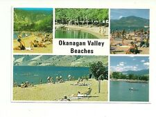 OKANAGAN VALLEY BEACHES, BRITISH COLUMBIA, CANADA POSTCARD