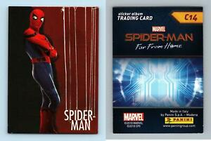 Marvel Spider-Man Far From Home #C14 Panini 2019 Trading Card