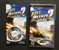 Full Auto 2: Battlelines (Sony PSP, 2007) Tested Complete