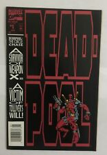 Deadpool #1 (Marvel 1993) The Circle Chase-RARE UNREAD Newsstand Variant NM