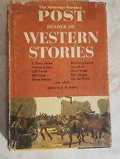 The Saturday Evening Post Reader Of Western Stories Edited by E N Brandt 1960 HC