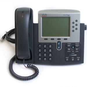 ☆ Cisco CP-7961G IP Phone VoIP PoE I 12 Months Warranty