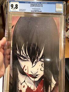 Vampirella #v5 #15 CGC 9.8 🔥 Sneak Peek Virgin Edition 🔥 Momoko Variant L@@K!
