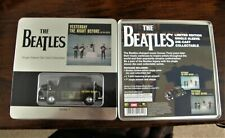 Beatles Yesterday The Night Before. Limited Ed Tin Diecast London Taxi. T-shirt