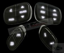 GM Chevrolet Steering Wheel Switches Controls Buttons New with White LED's 4pc