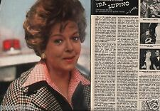 Coupure de presse Clipping 1975 Ida Lupino  (4 pages)