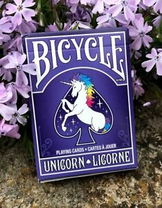 Bicycle Unicorn Playing Cards by The United States Playing Card Company