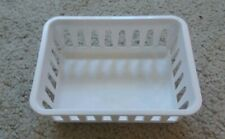 white plastic basket - free shipping US