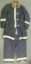 Globe Morning Pride Black Firefighter Turnout Set Jacket 40x34 Pants 38x29 S50
