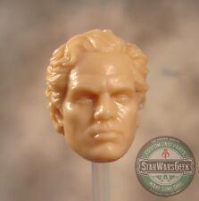 "ML203 Bruce Banner Hulk MCU Custom Cast head sculpt use w/6"" Marvel Legends"