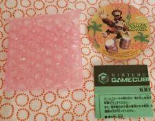 DONKEY KONGA GAMECUBE JEWEL /FACEPLATE /NAMEPLATE JAPAN EXCLUSIVE Nintendo Kong