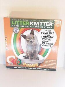 LITTER KWITTER 3-STEP TOILET TRAINING BRAND NEW