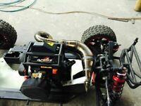 1/5 Für Losi Desert Buggy XL DBXL LOS05001 Truck Auspuff RC Exhaust Pipe Tube