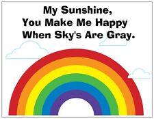 "Jail Prison Inmate Postcard ""Rainbow Laugh"""