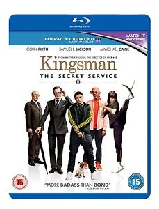 BLU-RAY  KINGSMAN THE SECRET SERVICE       BRAND NEW SEALED UK STOCK