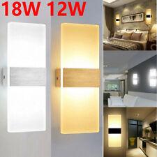 Modern LED Wandleuchte Wandlampe Flur Strahler Up Down Innen 6W 12W 18W Leuchte