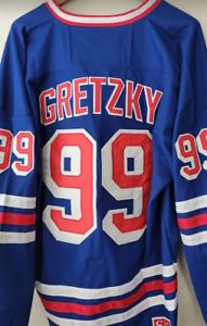 NWT Wayne Gretzky New York Rangers Throwback Jersey Sweater #99 Size 3XL CCM