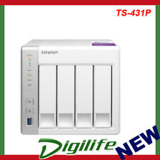 QNAP TS-431P 4 Bay Diskless NAS Alpine AL-212 Dual Core CPU 1GB RAM