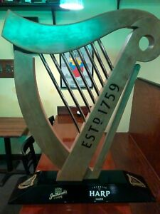 Guinness Wooden Harp Statue