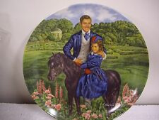 "Gone With The Wind ""Bonnie and Rhett"" 8 1/2"" Porcelain Plate"