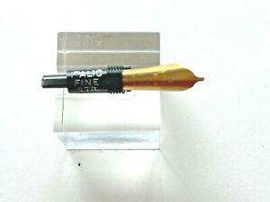 New/Old Osmiroid Gold Italic FINE Straight Nib Fits Esterbrook fountain pens.