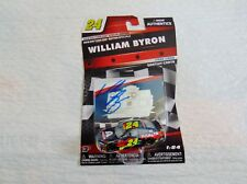 WILLIAM BYRON SIGNED 2018 AXALTA DAYTONA 500 NASCAR AUTHENTICS 1/64 CAR!!!!!!!!
