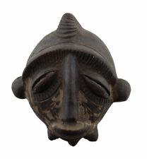 Masquette Igbo de case votive Terre cuite fétiche diminutif Art africain 16942