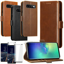 For Samsung GALAXY S8 / S9 Plus Note 9 Leather Flip Fold Wallet Case Cover Stand