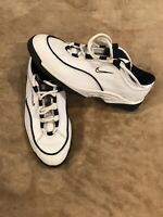 Vintage 90s White Nike Air Wickie Last Golf Shoes Leather Men's Size 8.5 US