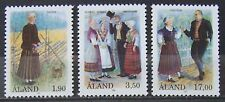 Aland 1993 - Set Costumes MNH