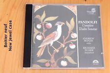 Pandolfi - Intégrale Sonates Violon - Andrew Manze - CD Harmonia Mundi