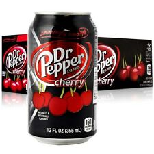 Dr Pepper Cherry cans 24 x 355ml (USA)