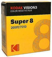 Kodak Vision3 Super 8 Colour Negative Film (200T/7213)