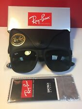Ray-Ban Sunglasses Justin 4165 601/71 Black Green 54mm - Next Day Delivery