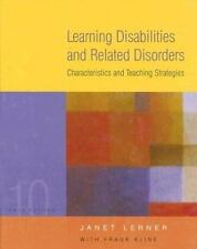 Learning Disabilities and Related Disorders: Characteristics and Teaching Strate