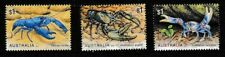 Australia 2019 Freshwater Crayfish Set 3 Sc# 4982-4984 Mnh Mint/Never Hinged