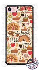 THANKSGIVING FALL HARVEST CUSTOM PHONE CASE COVER FOR iPHONE SAMSUNG GOOGLE LG