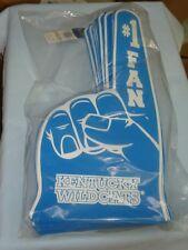 KENTUCKY WILDCATS  #1 Fan (18 inch tall) FOAM FINGER  (package of 12)  Rico NIP