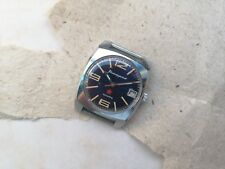 Early RARE USSR WATCH KOMANDIRSKIE  ZAKAZ MO CCCP CHISTOPOL BLUE 2234 Serviced