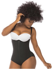 Fajas Salome Women's Adjustable Straps Comfy Sexy Butt Lifter Shapewear,Large