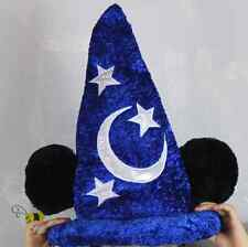 Disney Sorcerer Mickey Mouse Fantasia Wizard Hat Costume Party Cosplay For Adult