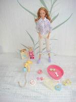 Mattel Barbie : Barbie Happy Family : Neighborhood Midge & Nikki mit Puppy Hund