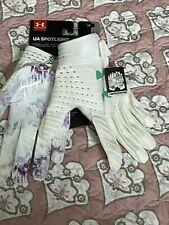Under Armour Ua Spotlight Gluegrip Football Gloves Limited Ed Men's Size Large