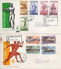 Repubblica Italiana 1960 FDC Venetia Club Olimpiadi di Roma Racc.