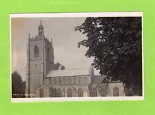 Necton Church Nr Swaffham unused RP pc  Ref D151