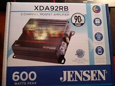 New ListingJensen Xda92Rb 2 Channel Dsp Control Amplifier - New!